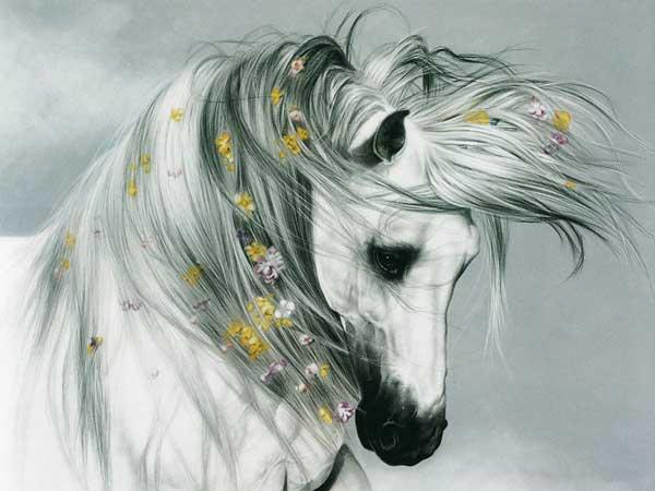 Нарисованные лошади (текст + 6 ...: www.detskiy-mir.net/comments/2009_6_10_3.htm